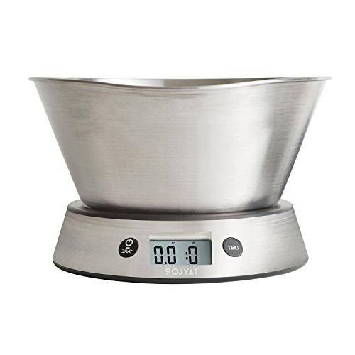 Taylor Weighing Kitchen Scale, Capacity
