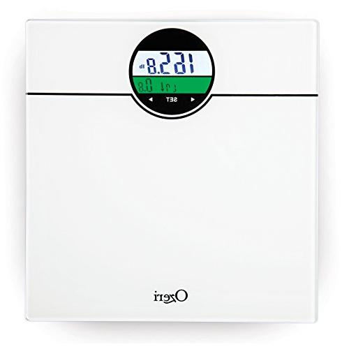 Ozeri ZB21-W WeightMaster lbs Scale with Change Detection, White