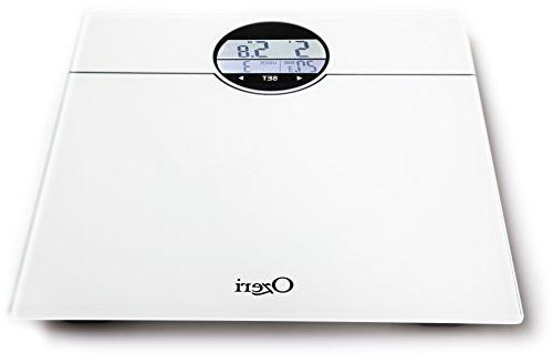 Ozeri WeightMaster 400 lbs Bath Scale with Change White