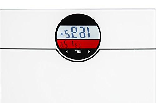 Ozeri ZB21-W WeightMaster lbs with Change Detection, White