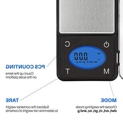Ultra Digital Pocket Counting Feature,Jewelry Scale,Food Kitchen 600