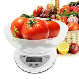 LCD 5kg 11lbs Digital Portable Kitchen Scale Electronic Weig