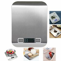 LCD Digital Electronic Balance Scale 1-5000g Food Weight Pos