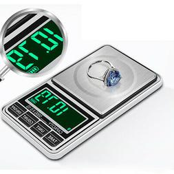 LCD-Display Weighing Scale Jewelry-Scale Precision USB-Power