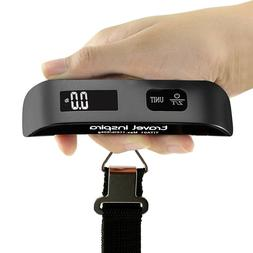 Luggage Scales Handheld Digital Travel Carry On Hanging Post