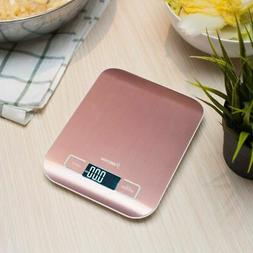Luxury Stainless Steel LED Digital Scale For Food Kitchen Po
