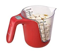 Taylor Digital Measuring Cup And Food Scale, BPA Free Food S
