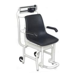 Mechanical Chair Scale Capacity: 400 lb x 4 oz / 175 kg x 10