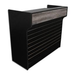 Memphis Style Slat Wall Sales Counter Display