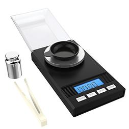 Homgeek Digital Milligram Pocket Scale Mini Jewelry Gold Pow