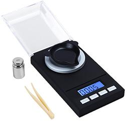 NEW Digital Milligram Scale 50 X 0.001g Reloading Jewelry Sc