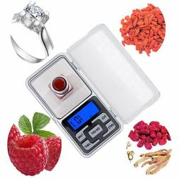 Mini Pocket Digital Scale Balance Gram Electronic Jewelry Sc