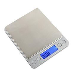 STree 500g/0.01g Digital Kitchen Scale High-precision Multif