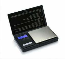 NEW AWS1KGBLK American Weigh 1KG Digital Pocket Scale 1000 x