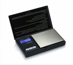New Black Weigh Scales AWS-600-BLK Digital Personal Nutritio