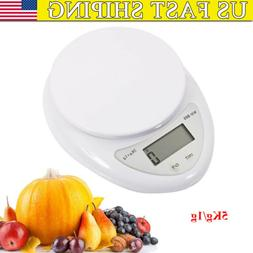 New Digital Kitchen Food Cooking Measuring Scale with LCD Di