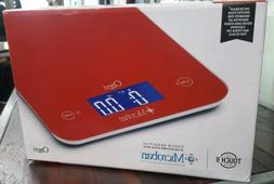 NEW Ozeri Touch II Digital Kitchen Scale w/ Microban Antimic