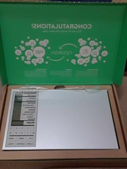 Nourish Nutrition Digital Scale, a Greater Goods Product. He