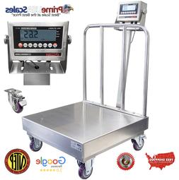 OP-915SSBW NTEP Stainless Steel Washdown Bench Scale with Wh