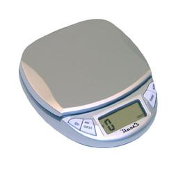 Escali Pico Digital Scale 11lb/5Kg, Silver Grey, 1 ea