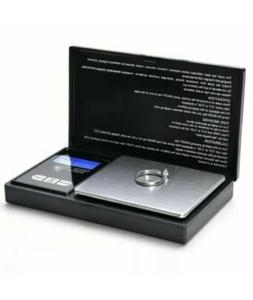 Pocket 1000g x 0.1g Digital Jewelry Gold Coin Gram Balance W