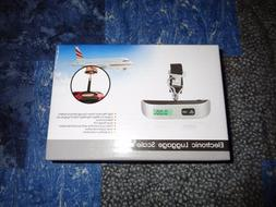 Pocket Digital Electronic LCD Luggage Scale Hanging 110lbs 5