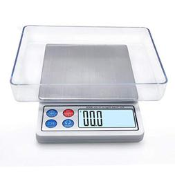 Toprime Digital Gram Scale, Mini Size Food Scale 600g x 0.01