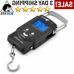 Portable Digital Fishing Scale Fish Hook Hanging Scale Elect