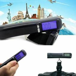 Portable Digital Scale Travel Gadget Hand Held Luggage Suitc