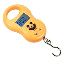 50Kg / 5g-10g Portable Digital Hanging / Fishing Scale with