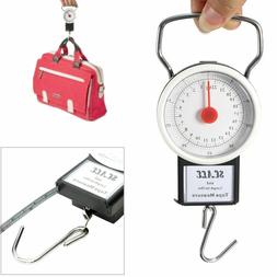 portable luggage travel scale hanging suitcase hook
