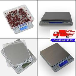 Portable Mini Pocket Scale Food Kitchen Jewelry Weight Digit