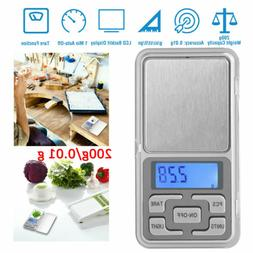 Portable 500g x 0.01g Mini Digital Scale Jewelry Pocket Bala