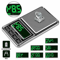 Portable Pocket Electric Scales Jewelry Gold Weight Mini Dig