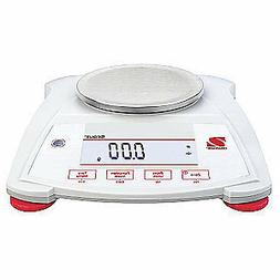 OHAUS Portable Scale,620g,0.01g,Backlit LCD, SPX622