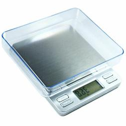 2000g X 0.1g Digital Precision Scale with Trays and Counting