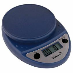 Escali Primo Digital Scale, 11 Lb / 5 Kg, Royal Blue, 1 ea