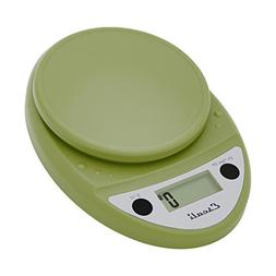 Escali Primo Digital Scale, 11 Lb / 5 Kg, Tarragon Green, 1