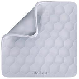 Removable Cover for Gray Bathroom Scale by GreaterGoods Sili