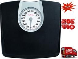 rotating dial full view bathroom weight scale