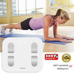 PHICOMM Smart Digital Bathroom Weight Fat Scale Body BMI Mob