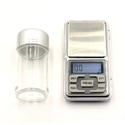 Professional Digital Jewelry Scale with 70ml Glass Sliver Bo