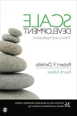 Scale Development : Theory and Applications, Paperback by De