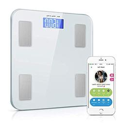 Digital Weight Scale, Bluetooth Bathroom Scale Weight and Bo