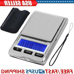 Mini Small Digital Scale Pocket Weight Jewelry Gold Weed Gra