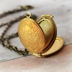 Scale Pretty 4 Picture Photo Frame Locket Box Oval Pendant M