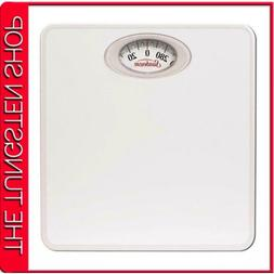 Scale White Dial Easy Read Health Bathroom Fat Weight Rotati