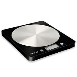 Salter Electronic Kitchen Scale, Black