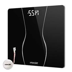 Triomph Smart Digital Body Weight Bathroom Scale with Backli