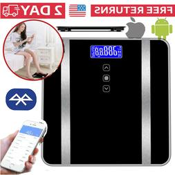 Smart Bathroom Scales Weight Scale Body Fat Bones BMI Digita